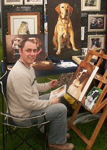 David Pennington Pet Portrait Artist