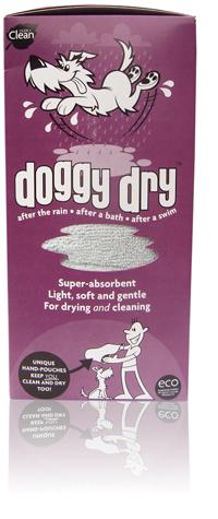 Eco-friendly dog towel