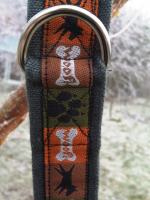 Natural hemp dog collar