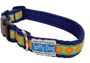 Spiffy Dog Collar, lightweight and quick drying