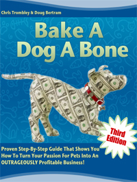 A book about starting your own dog treat business