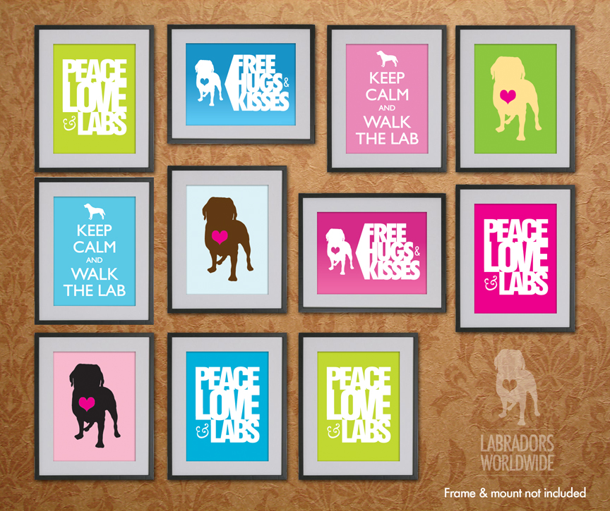 Labradors Worldwide Mini Posters